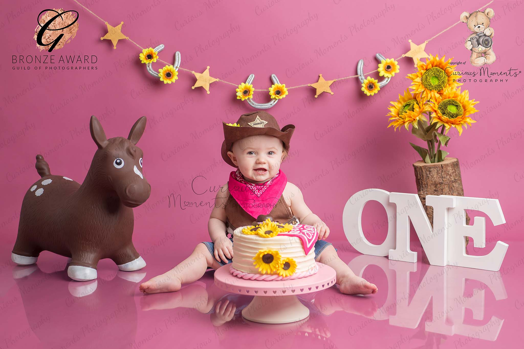 Clients review of her cake smash