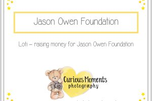 Loti – raising money for Jason Owen Foundation