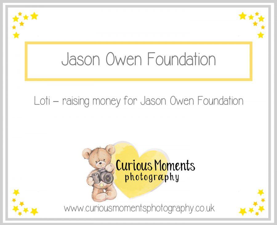 Loti – raising money for Jason Owen Foundation