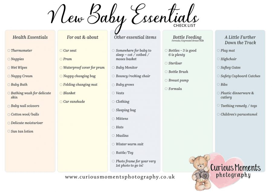 Having a baby? Not sure what you need to get?