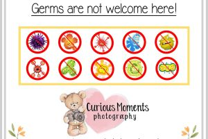 Germs are not welcome here