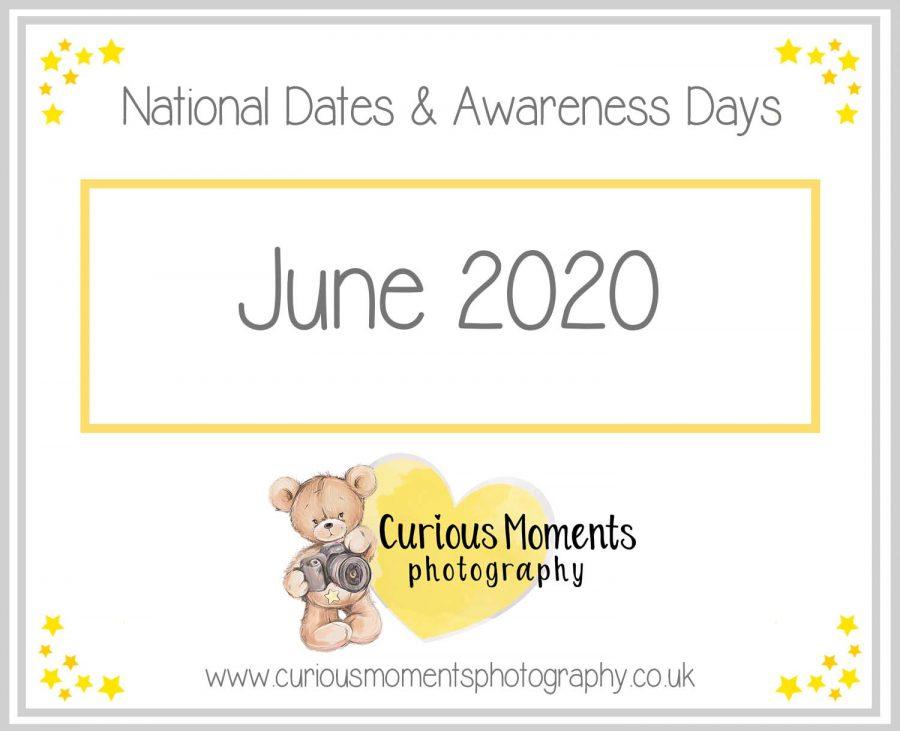 June 2020 Dates and Awareness Days