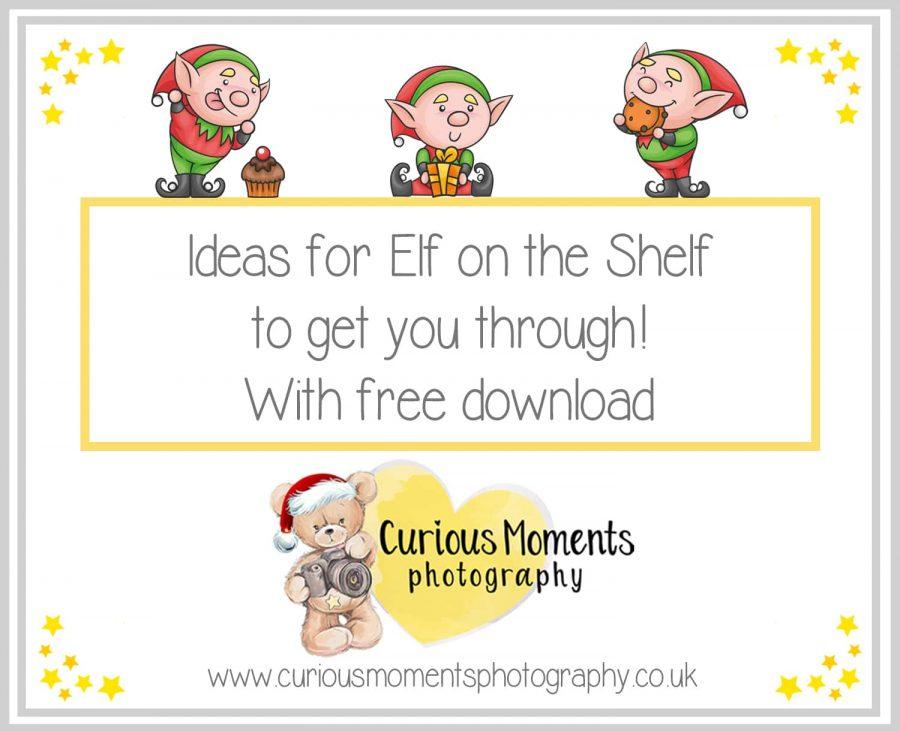 Ideas for Elf on the Shelf to get you through!