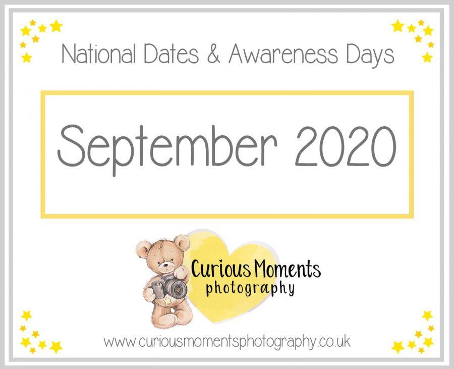 September 2020 Dates and Awareness Days