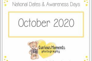 October2020 Dates and Awareness Days