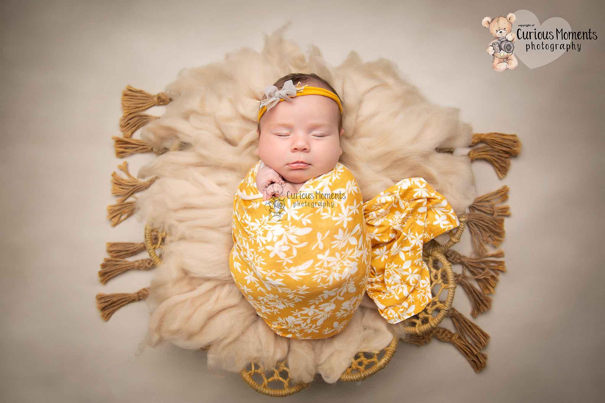 Newborn baby girl Newborn Photo Shoot Carmarthen