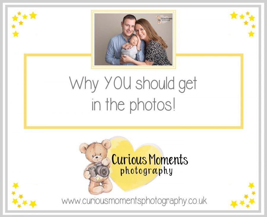 Why YOU should get in the photos!