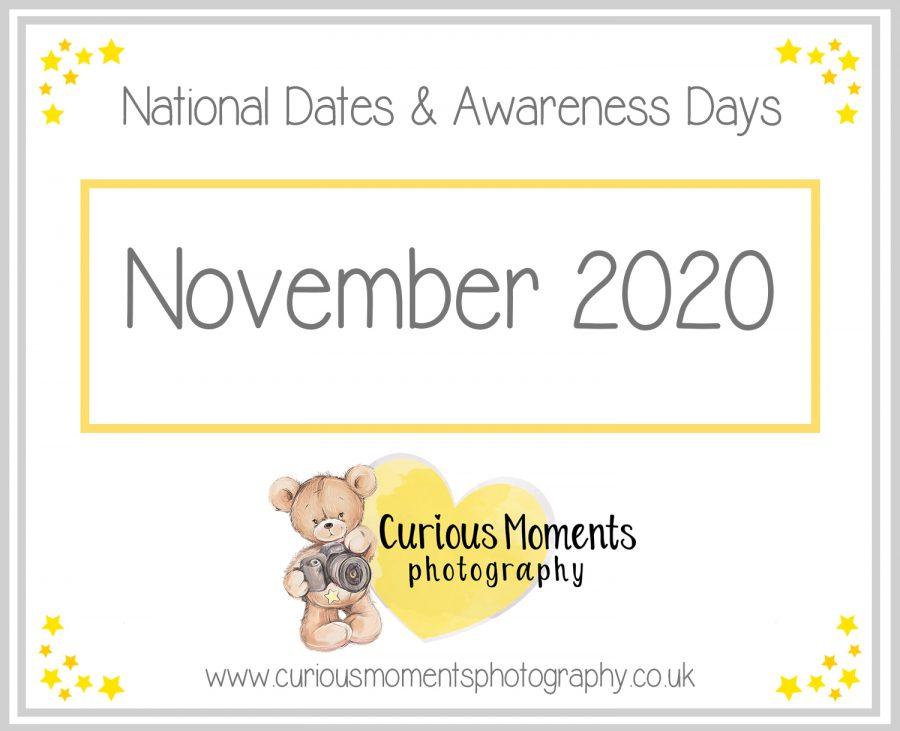 November2020 Dates and Awareness Days