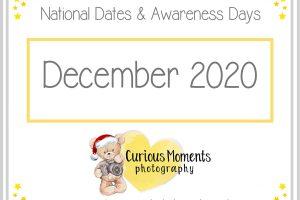 December2020 Dates and Awareness Days