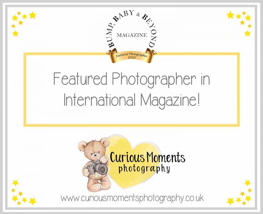 Magazine Featured Baby Photographer
