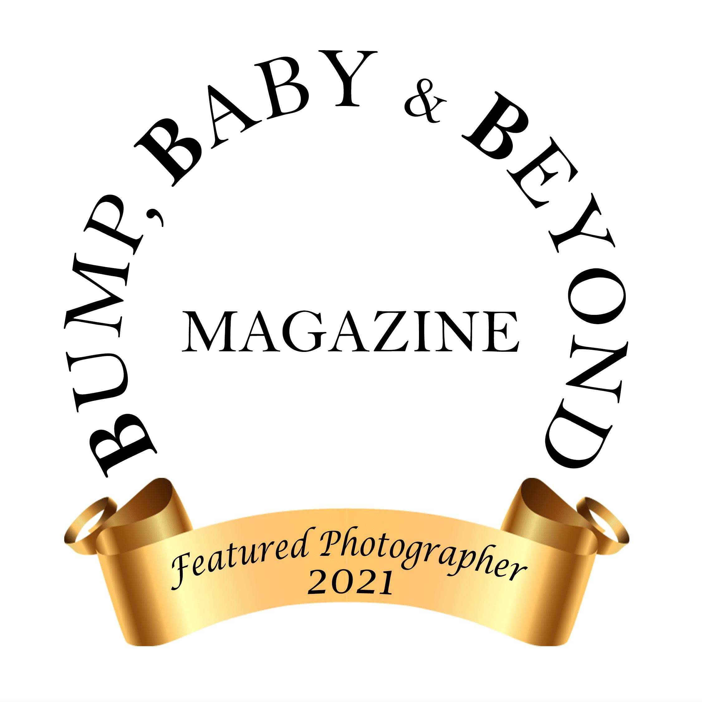 Bump Baby & Beyond Magazine Magazine Featured Baby Photographer