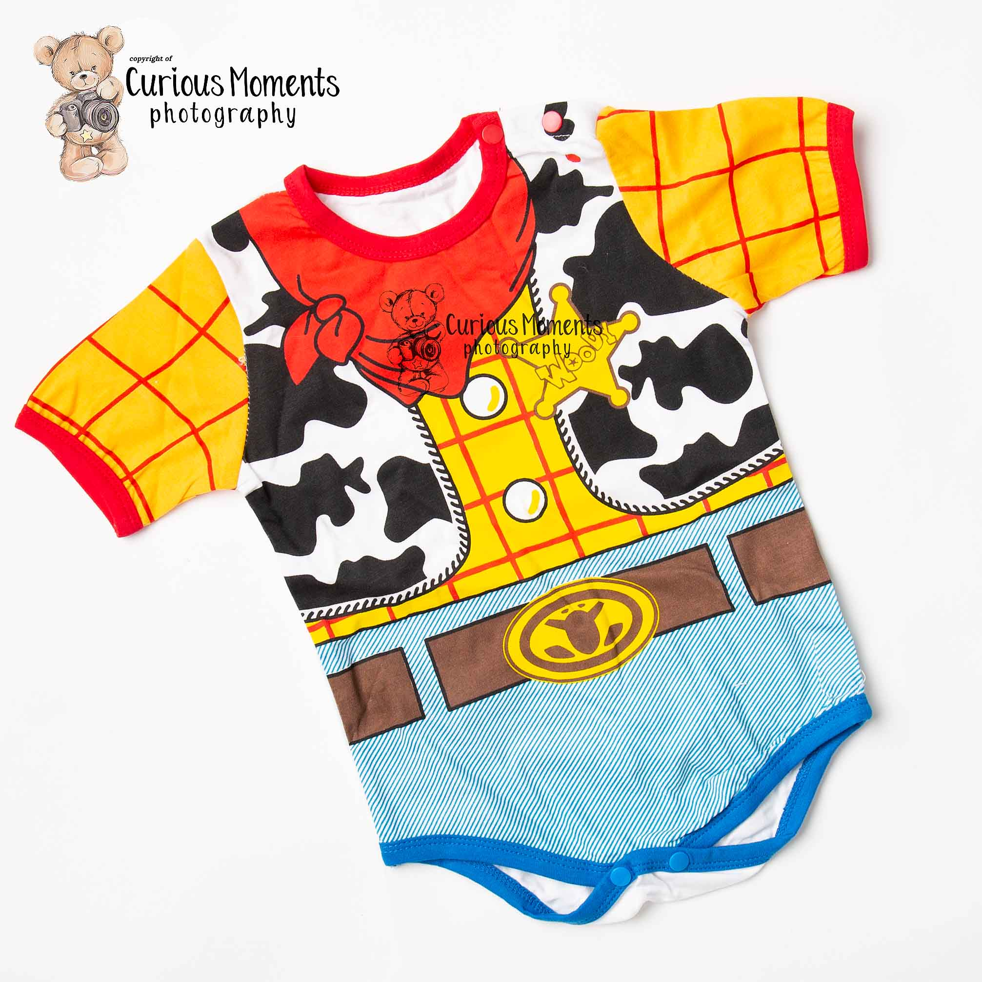 Woody outfit for toy story or cowboy theme cake smash in Carmarthenshire